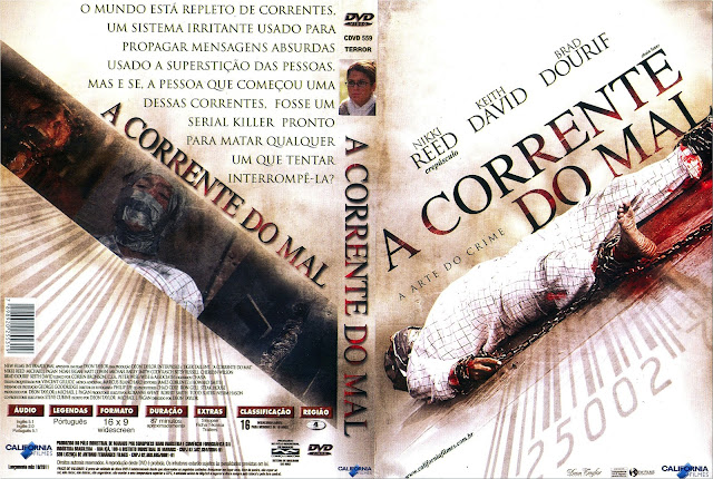 Capa DVD A Corrente do Mal