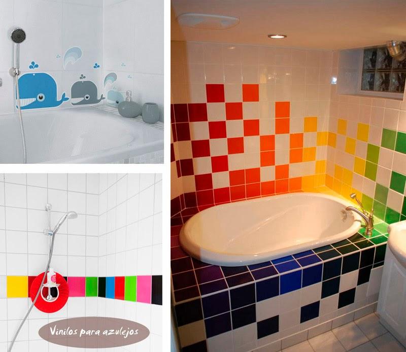 ideas pintar azulejos banos | Decorar tu casa es ...