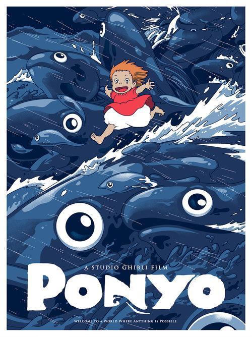 Thomas Sherwood B A Hons Computer Animation Arts Uca Rochester Film Reviews Ponyo 2008