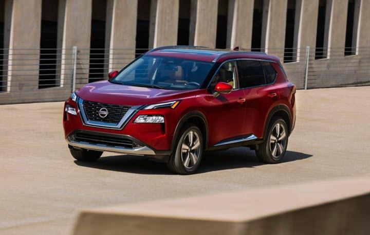 Nissan X-Trail 2021 lột xác với diện mạo hoàn toàn mới
