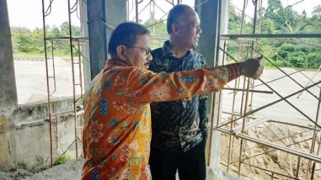 32 Unit Petak Toko di Pasar Pauhkambar Kembali  dibangun