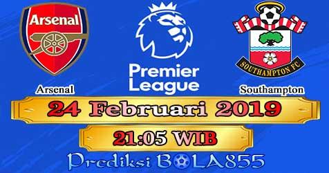 Prediksi Bola855 Arsenal vs Southampton 24 Februari 2019