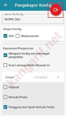 ekspor config http injector