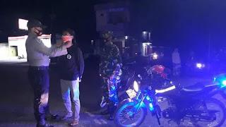 Polsek Tellu Siattinge Bersama Koramil 1407-04 Gelar Operasi Yustisi