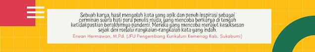 Apresiasi JFU Pengembang Kurikulum Kemenag Kab. Sukabumi