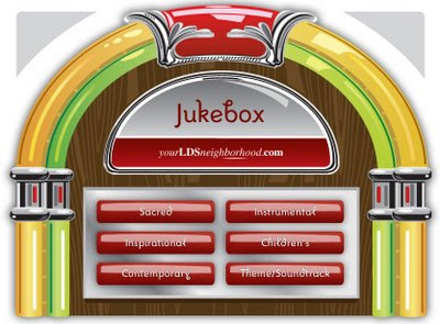 La petite presse a universal thank you for Jukebox labels template