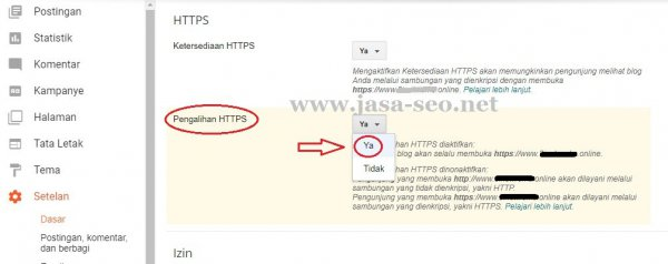 cara-redirect-https-blogspot-custom-domain