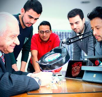Departamento de electrónica y  nanotecnología de la Clínica Sahio.