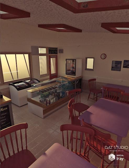 Beach Cafe Interior Furniture