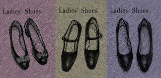 Ladies' Shoes(婦人靴)/松岡晶子/ボールペン,デジタルペイント