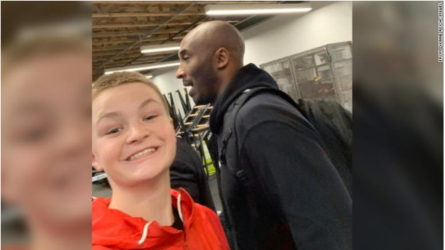 "Kobe tells fan ""We'll get a better pic tomorrow"" after blurry selfie on Saturday"