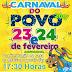 Carnaval do Povo começa nesta quinta-feira (23) em Jaguarari.