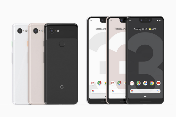 Google launches Pixel 3 and Pixel 3 XL with Android 9 Pie, Active edge and Dual front cameras