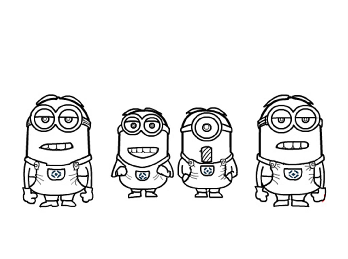 Minions Coloring Pages Coloring Pages