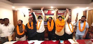 ब्रह्मजीत बने मण्डल अध्यक्ष, कर्मियों ने जताई खुशी    #NayaSaberaNetwork
