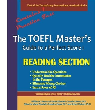 The TOEFL Master's Guide: Reading Section Precise Test Preparation Methods - Fast Track Edition