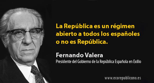 Fernando Valera: «La España libre no ha muerto»