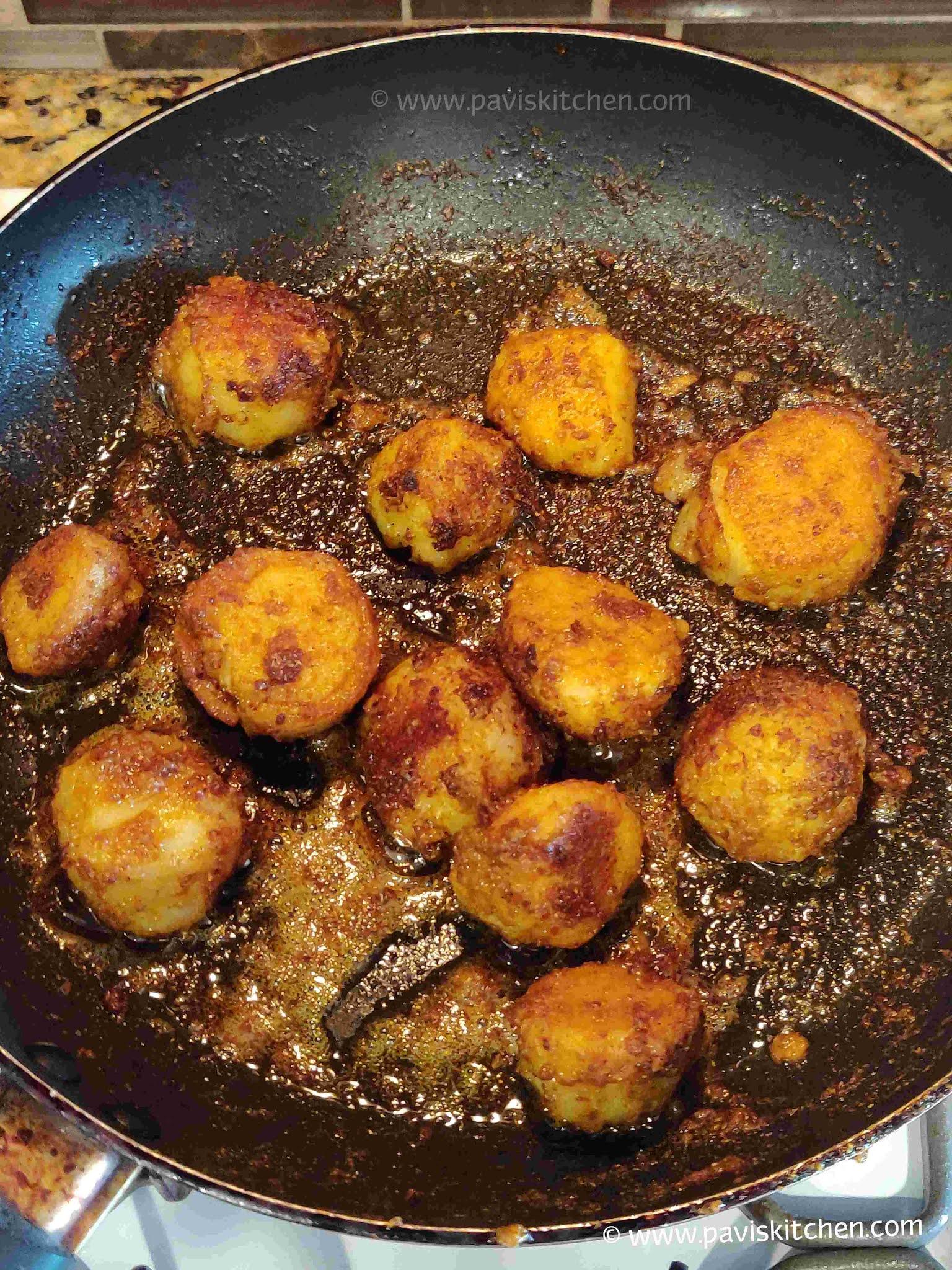 Arbi fry recipe | seppankizhangu roast | cheppankizhangu varuval | colocasia recipe | taro root fry