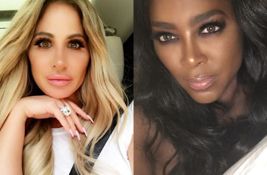 Kenya Moore Responds To Accusations She Insulted Kim Zolciak's Son