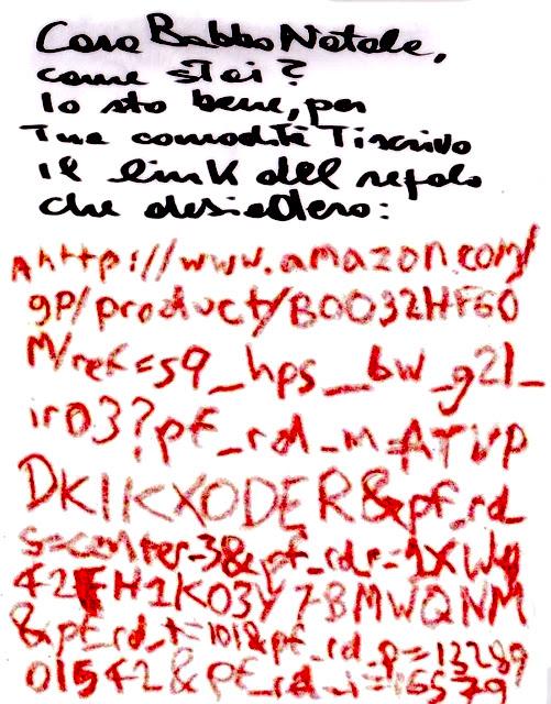 Babbo Natale Ho Ho Ho.Sussurri Delle Cube Un Bambino Occidentale Scrive A Babbo Natale