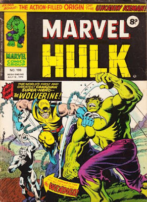 Mighty World of Marvel #198, Hulk vs Wolverine