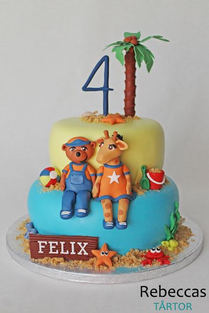 Lollo och Bernie tårta
