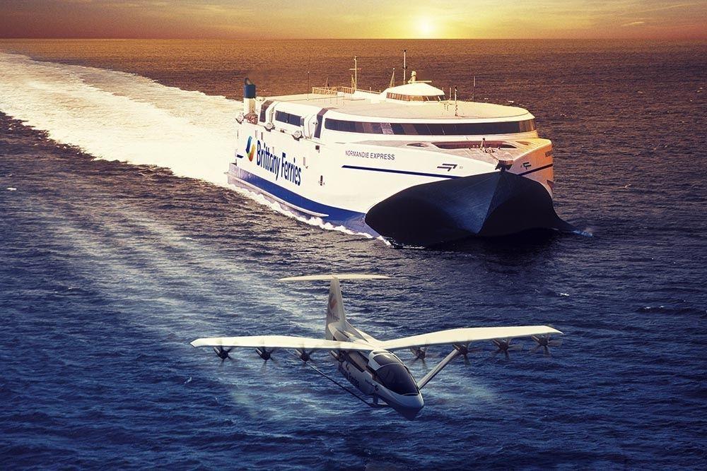 Balsas voadoras - Nova forma de transporte entre Reino Unido e França