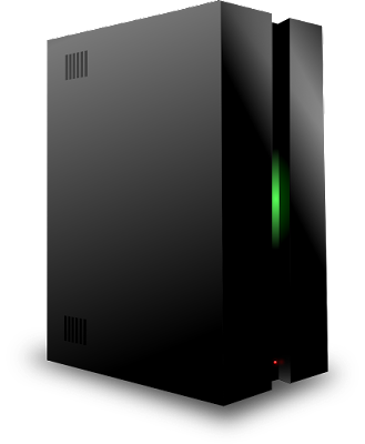 ilustrasi server hosting