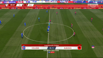 This scoreboard can be used for all patches Update, PES 2017 Scoreboard European Qualifiers Euro 2020 by JAS