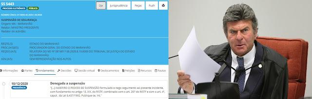 EXCLUSIVO!! - STF indefere tentativa do Procurador do MA de  impedir posse de prefeito eleito de São José de Ribamar