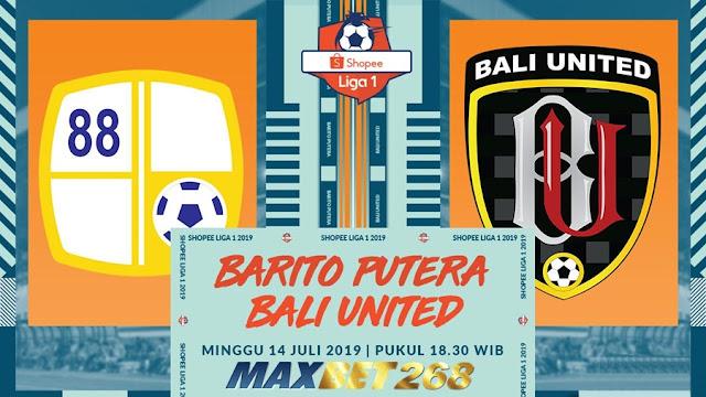Prediksi Barito Putera Vs Bali United, Minggu 14 Juli 2019 Pukul 18.30 WIB @ Indosiar