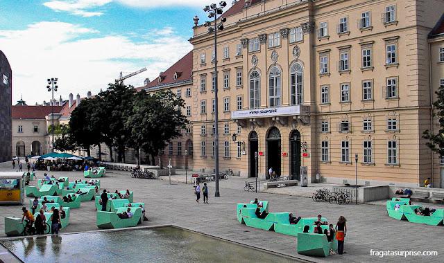 Viajar sozinha para Viena, Áustria
