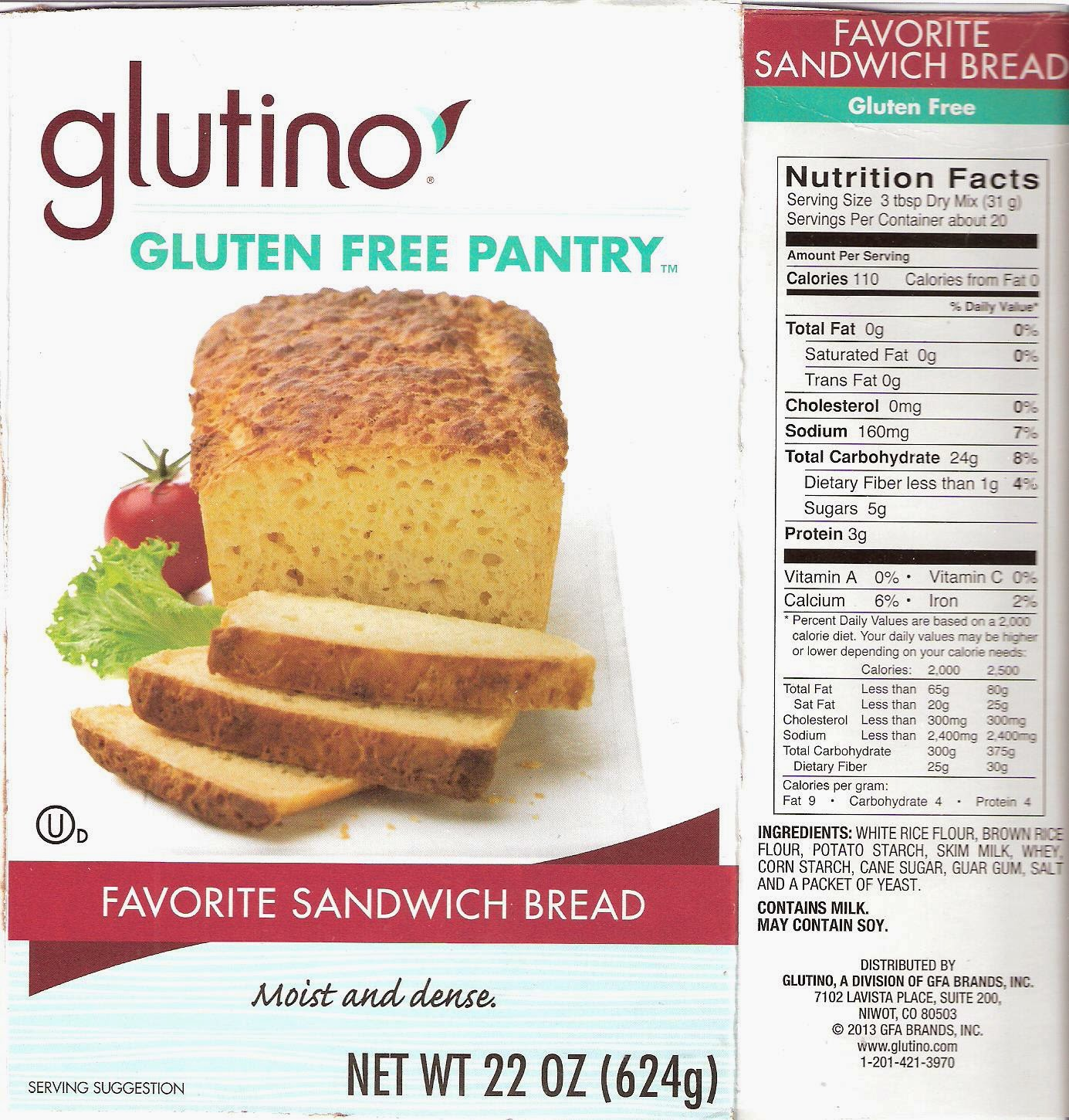 Food North Carolina: Favorite Sandwich Bread | Gluten-Free ...