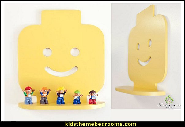 LEGO shelf lego wall decorations lego home decor