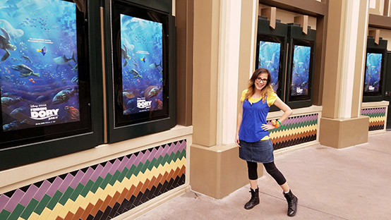 Finding Dory and Speak Like a Whale Day- Dory inspired outfit