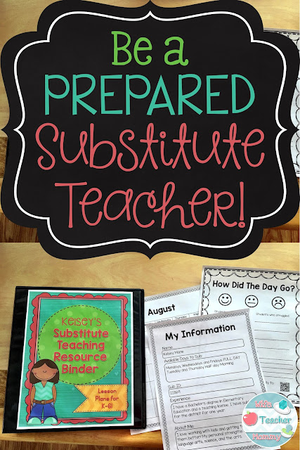 Be a Prepared Substitute Teacher!