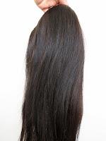 Aplique e cabelo humano 60 cm