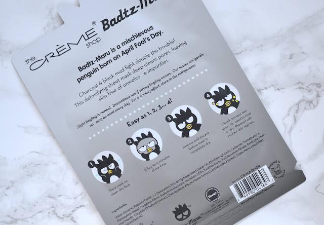 The Creme Shop Bad Badtz Maru Detox Rocks