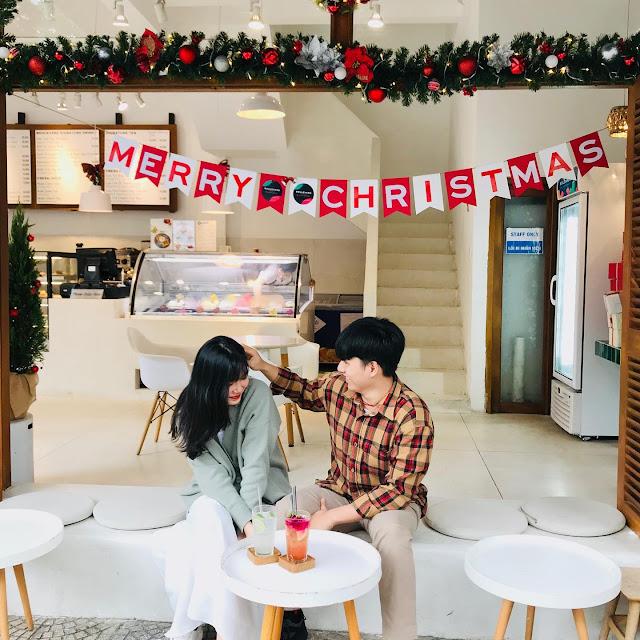 Quán cafe Đà Nẵng Noel đẹp, quan cafe da nang noel