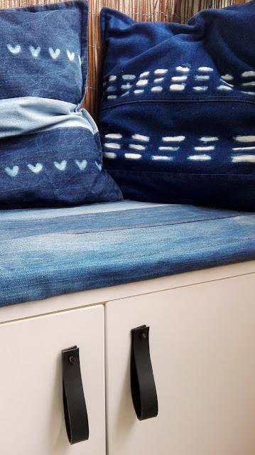jeansowe poduszki dekoracyjne