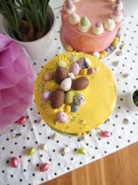 Sitruunainen pääsiäiskakku