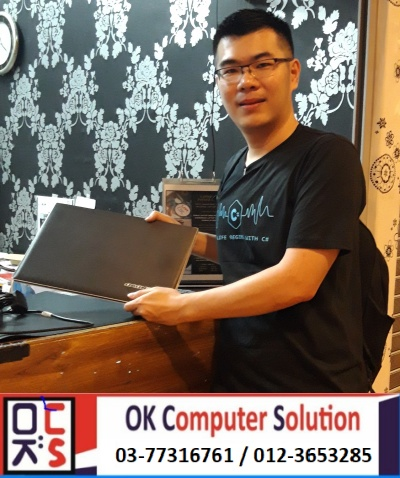 [SOLVED] CANNOT ON LENOVO Z500 | KEDAI REPAIR LAPTOP DAMANSARA 12