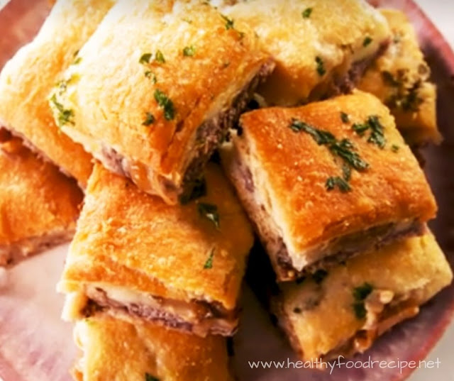 FRENCH DIP SQUARES RECIPE