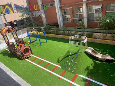 基隆市安樂區安樂國小改善兒童遊戲場