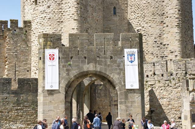 La porta principale di accesso alla cittadella