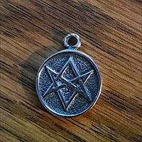 Unicursal Hexagram pendant, on Amazon