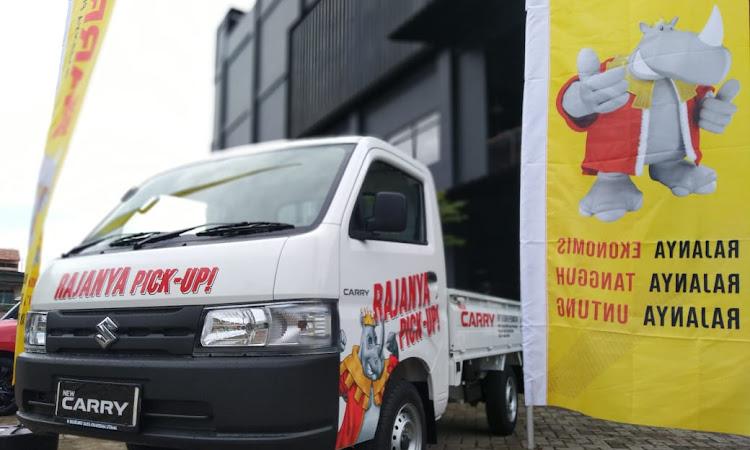 Suzuki Carry Pick Up, Rajanya Segala Pick Up