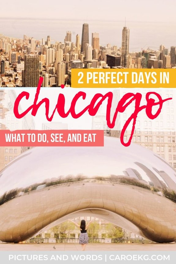 Wondering all the best things to do, see, and eat in 2 days in Chicago? I've got ya! This 2 days in Chicago itinerary will help you experience all the best of the Windy City!