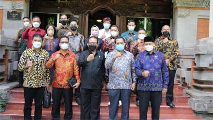 Kunker Mahyudin ke Provinsi Bali