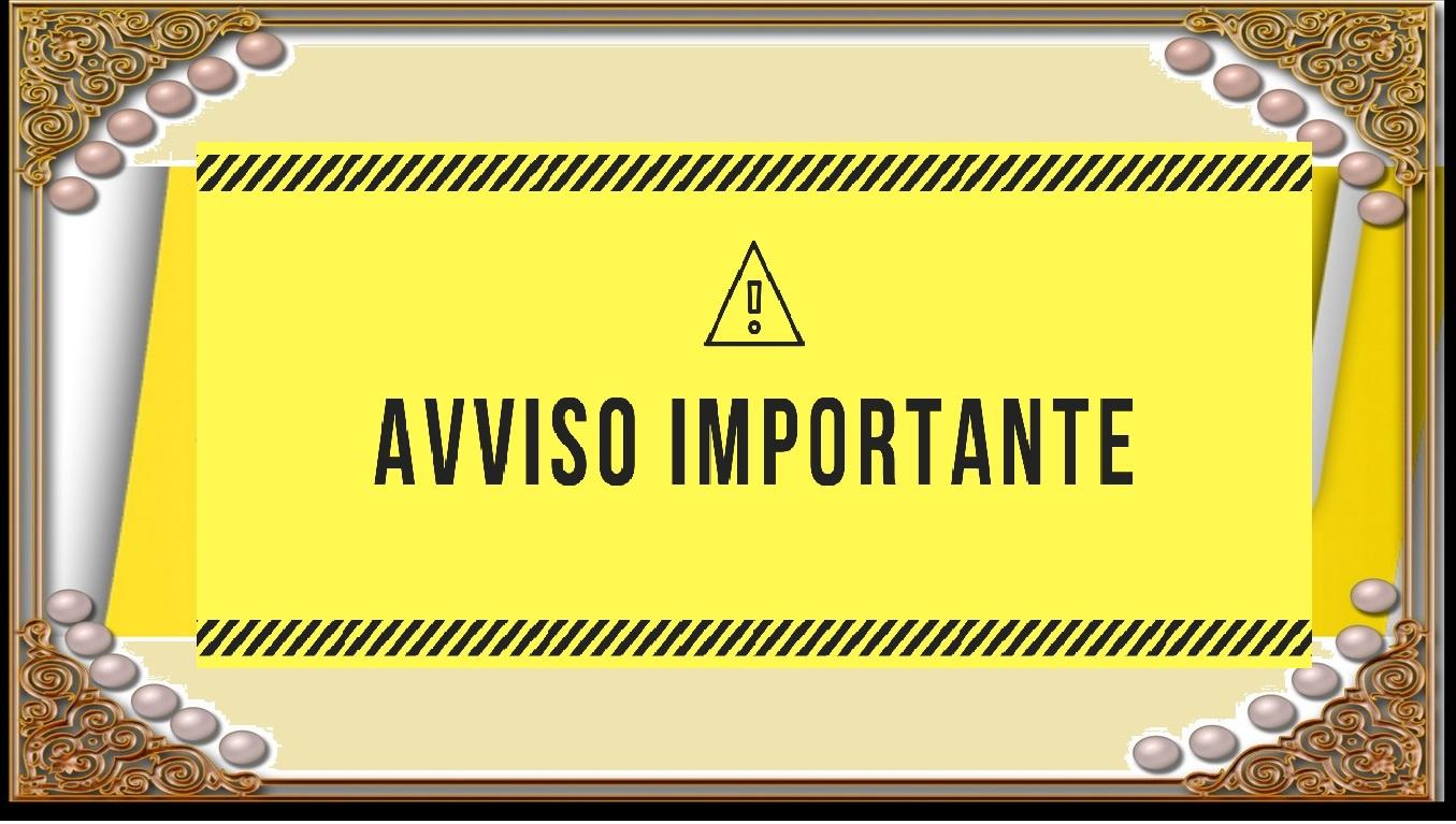 ◙ ► ✉ AVVISO IMPORTANTE: Da Luglio Google non invierà più le newsletter dei nostri blog.